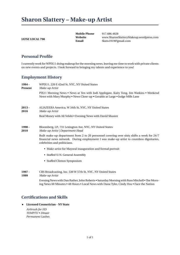 Slattery Good Resume-1