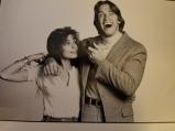 Sharon with Arnold Schwarzenegger